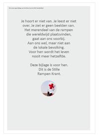 Rode Kruis, Stille Rampen Krant